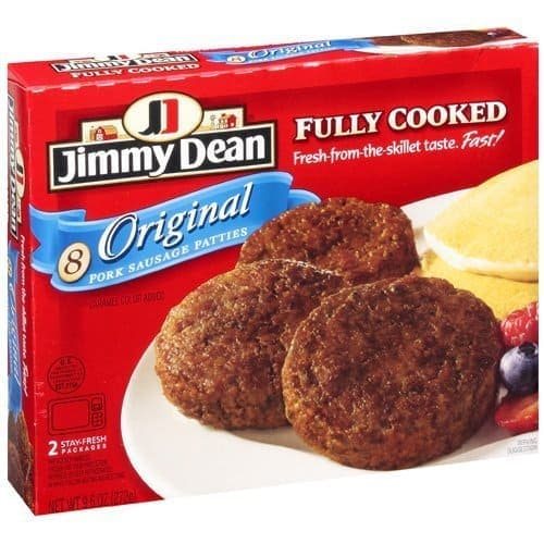 Jimmy Dean Ready Made Sausage