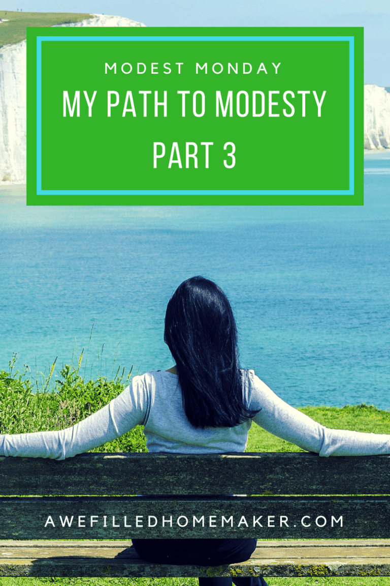 Modest Monday….My Path to Modesty Part 3