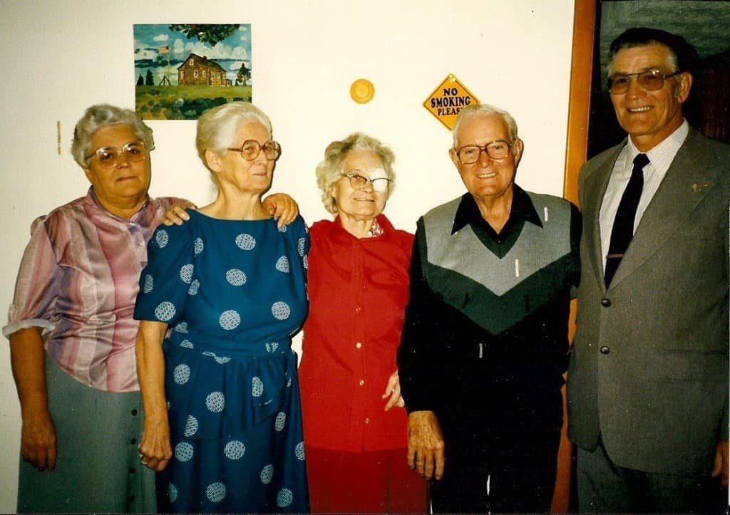 Mamaw and sisters