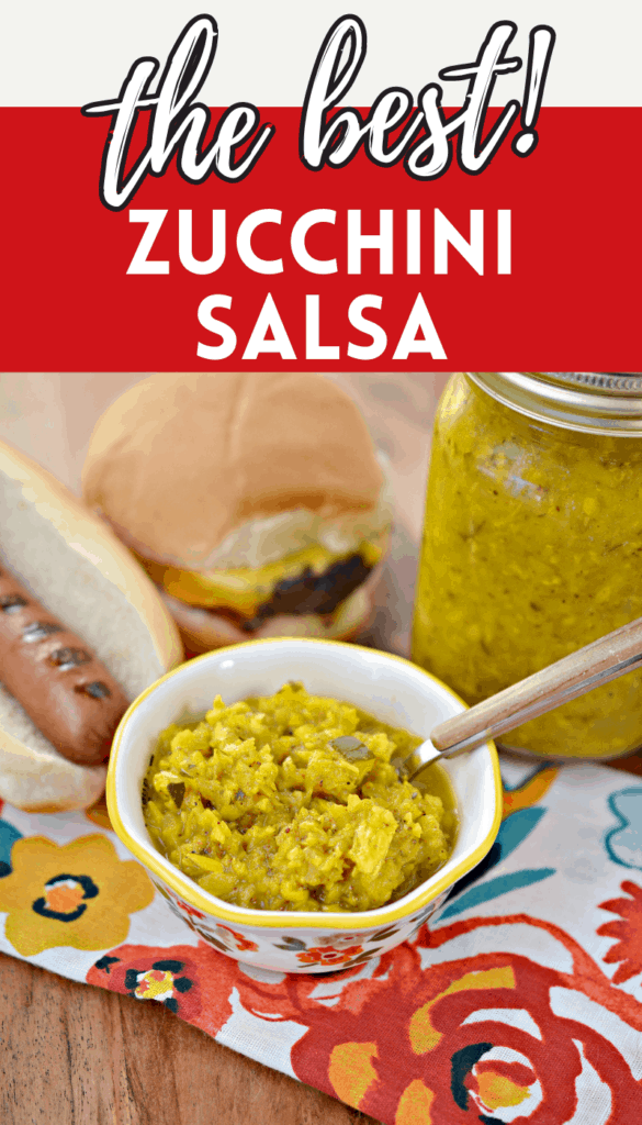 easy salsa made from zucchini