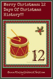 Twelve Days of Christmas History Graphic