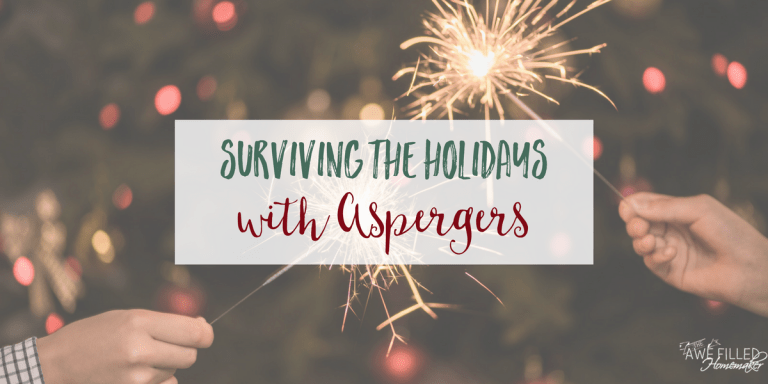 Surviving the Holidays with Aspergers