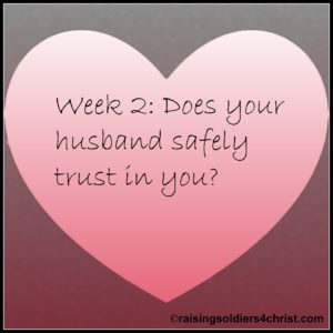 Being An Intentional Wife Trust