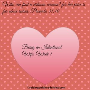 Being a Virtuous Wife