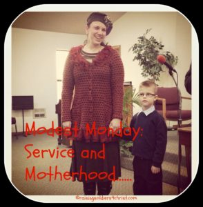 Serving and Motherhood