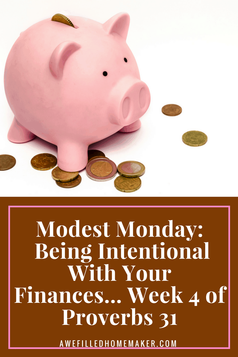 Being Intentional With Your Finances