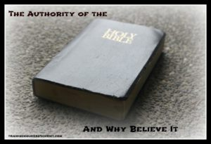 Authority of the Bible
