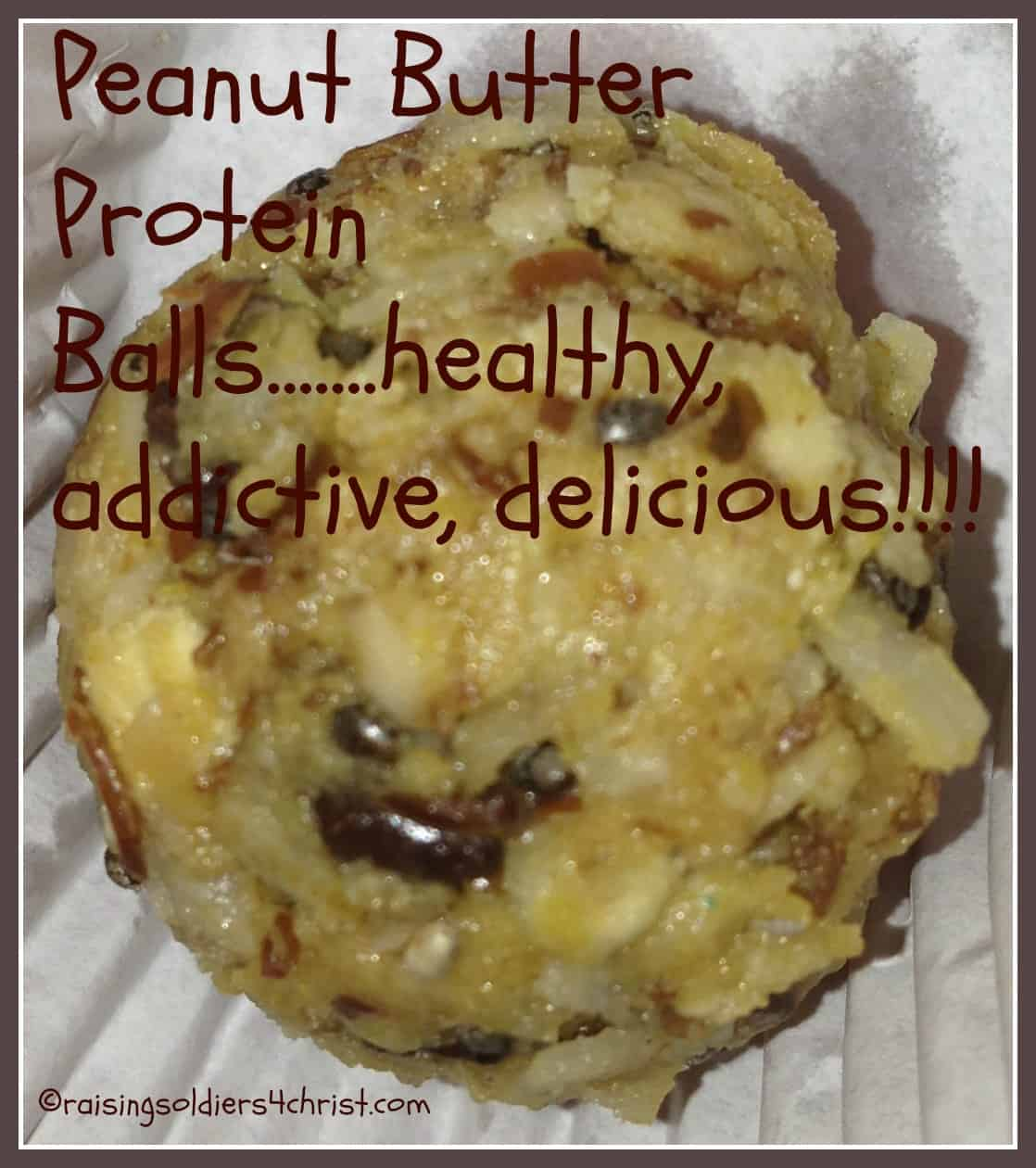 Tasty Tuesday: Peanut Butter Protein Balls