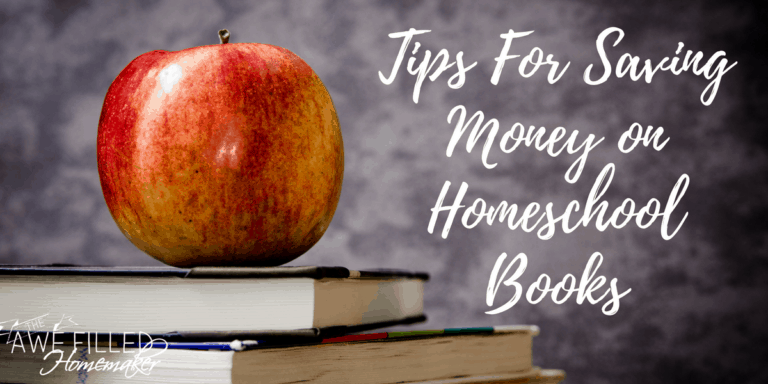 Frugal Friday: Homeschooling For Less-Buying Books