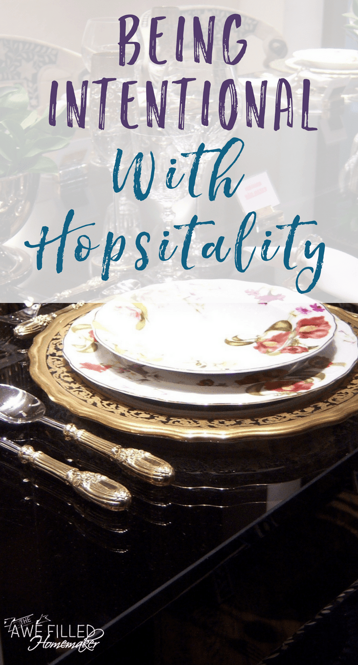 Being Intentional With Hospitality