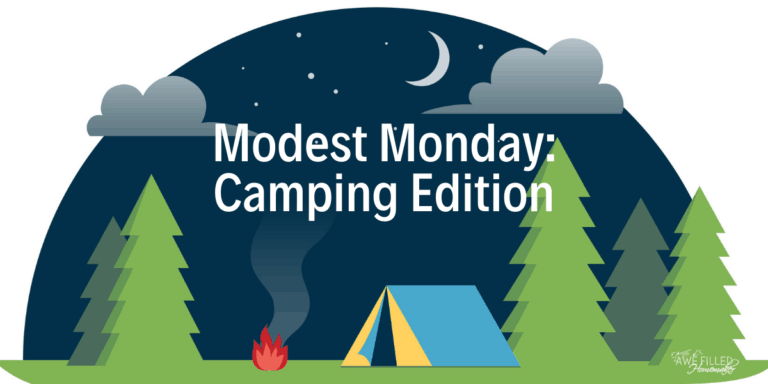Modest Monday: Camping Edition