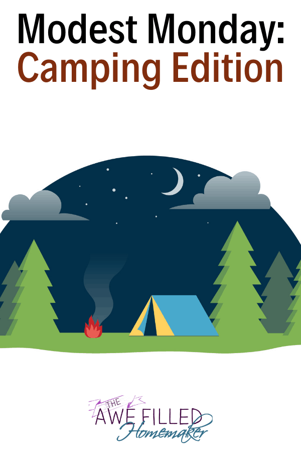 modest camping