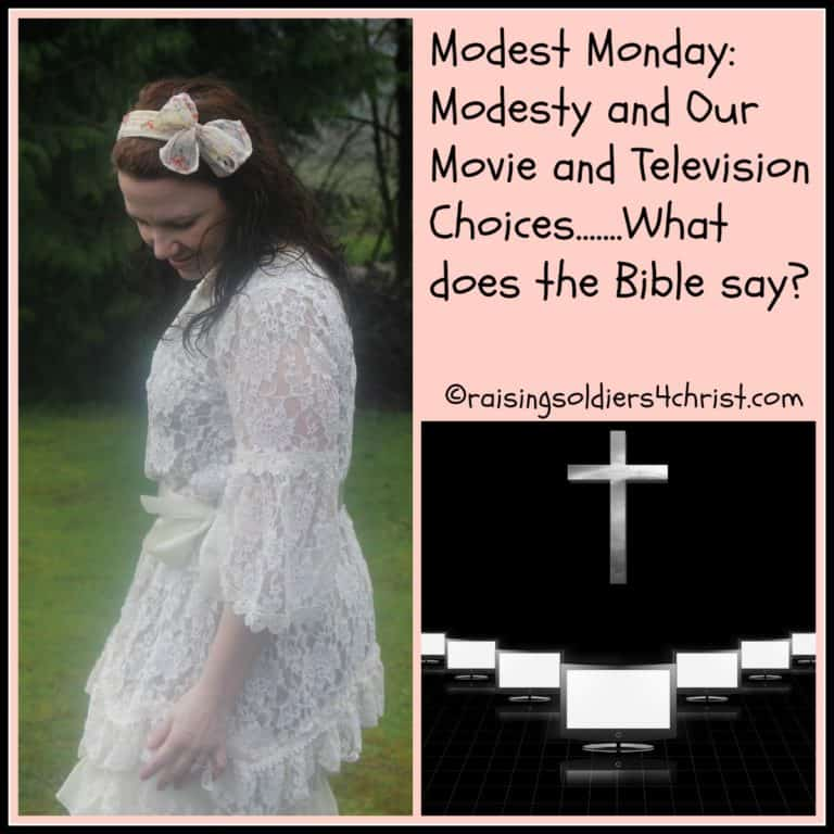 Modest Monday: Modesty And Our Movie And Television Choices