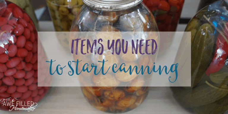 Wanting To Get Started Canning? Check Out My Tasty Tuesday Post To See What Items You Need!!!