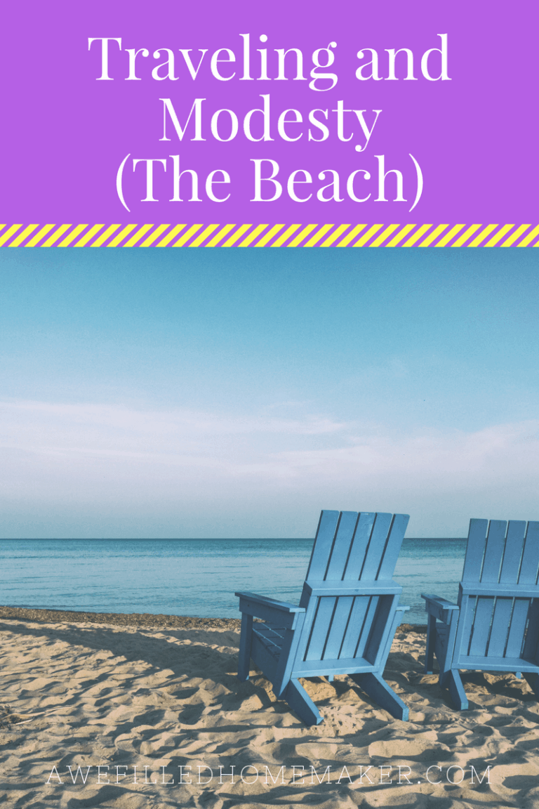 Modest Monday: Traveling and Modesty at the Beach Pt 2
