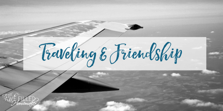 Modest Monday: Traveling and Friendship