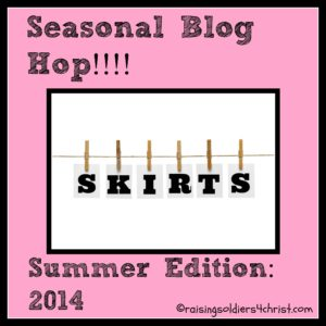 Seasonal Skirt Hop-Summer-22