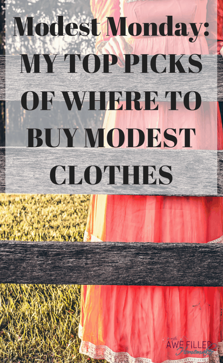 Modest Monday: My Top Picks Of Where To Buy Modest Clothes