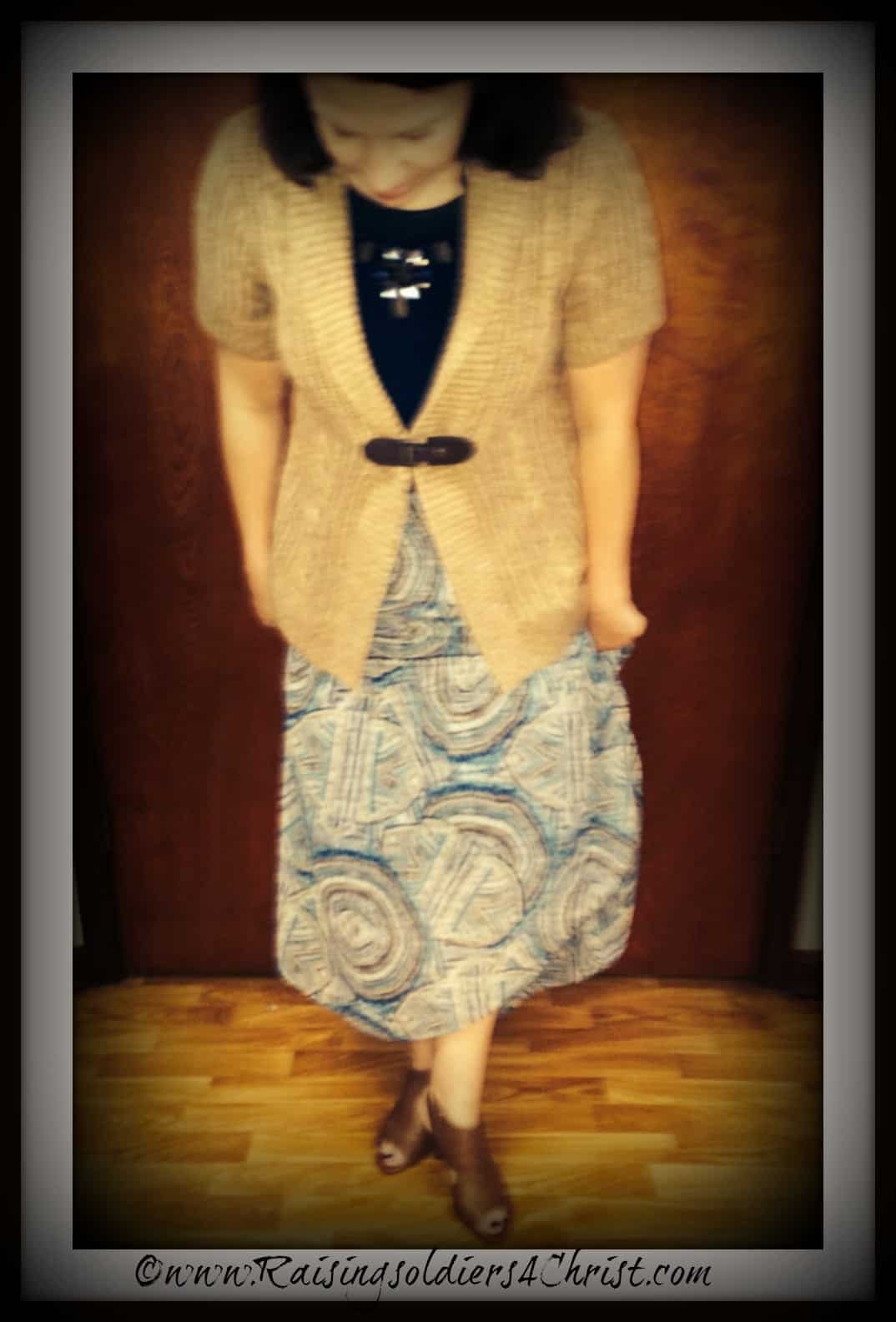 Modest Monday: Ultimate Modesty Booklist and What I wore :)