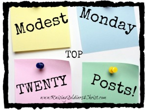 Top Modest Monday Posts