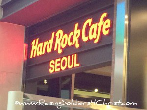 Korea-Hard Rock Cafe Seoul