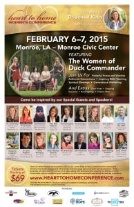 Heart to Home Conference poster