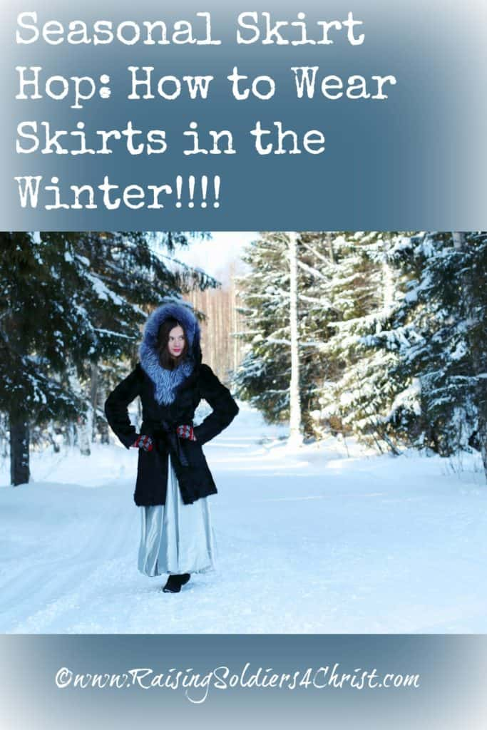 Seasonal Skir Hop-How to Wear Skirts in the Winter
