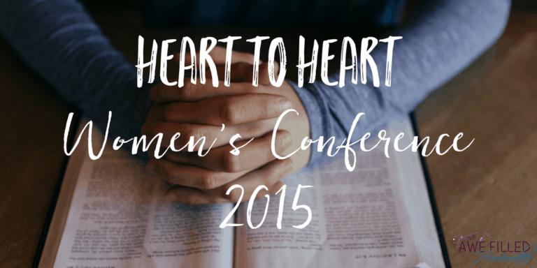 Heart to Home Women's Conference 2015