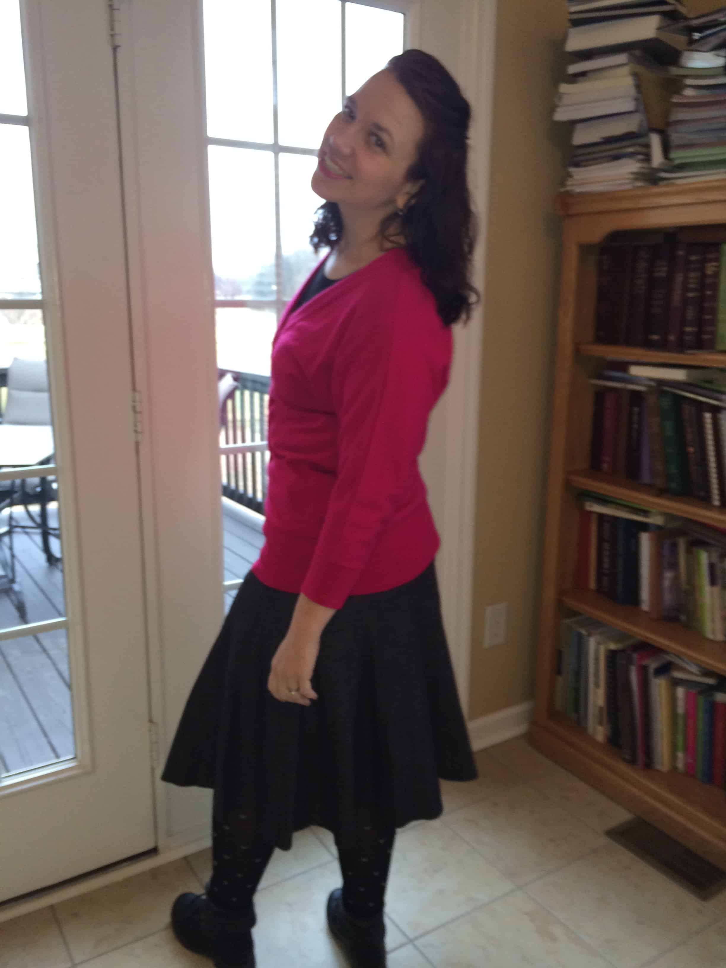 Modest Monday-Valenetine's Day with a Military Spouse.
