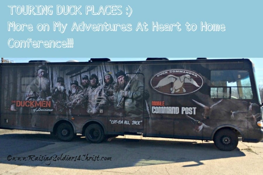 Touring Duck Places