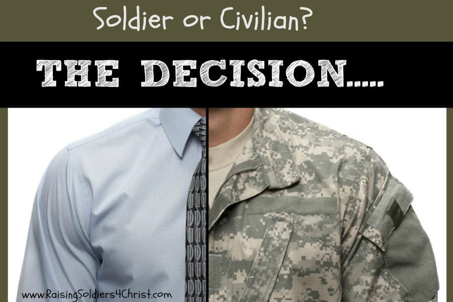 Military Separation....The Decision