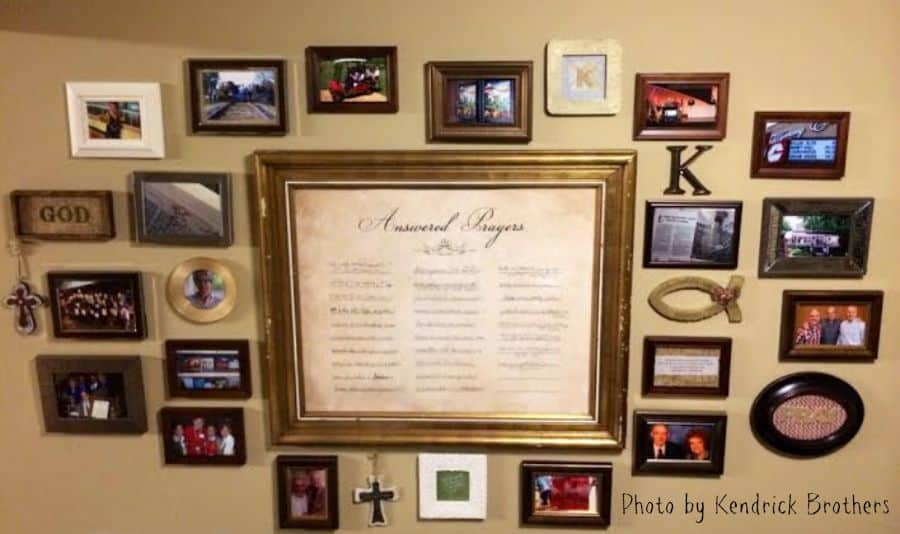KB wall of remembrance