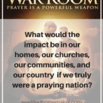 the war room: the power of prayer