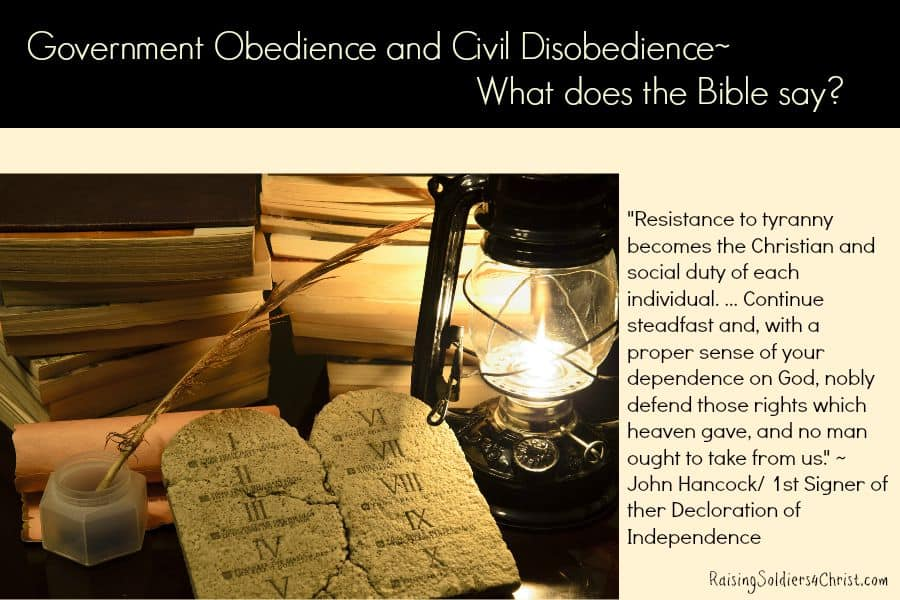 Government Obedience and Civil Disobedience-Graphic