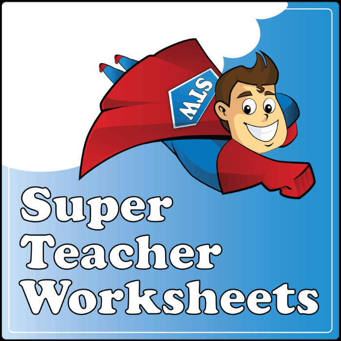Worksheet 619763 Super Teacher Worksheets Subtraction Fraction – Superteacher Worksheet
