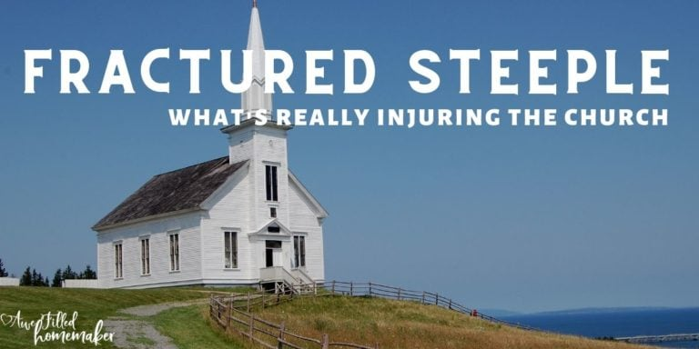 Fractured Steeple: What's really injuring THE CHURCH