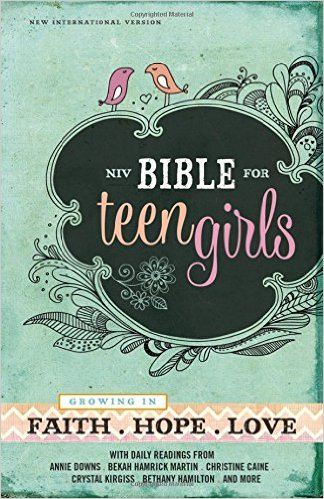 NIV Teen Bible for Girls-2
