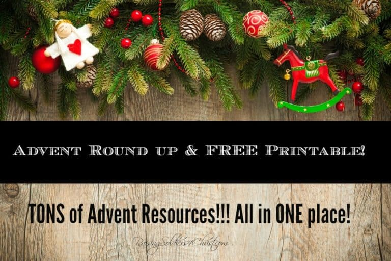 The Ultimate Advent Round up and FREE Printable!