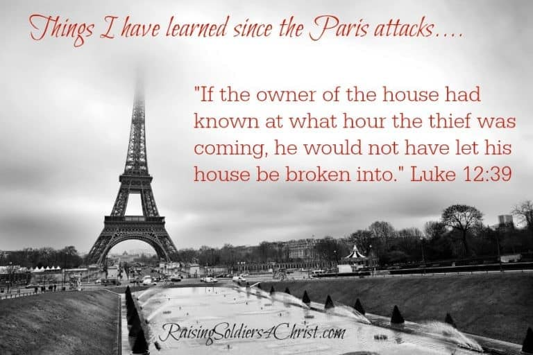What I have learned since the Paris attacks…..