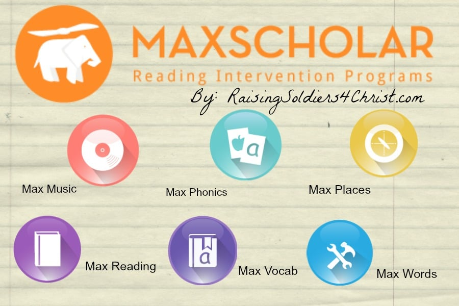Reading Adventures with MaxScholar {TOS CREW REVIEW}