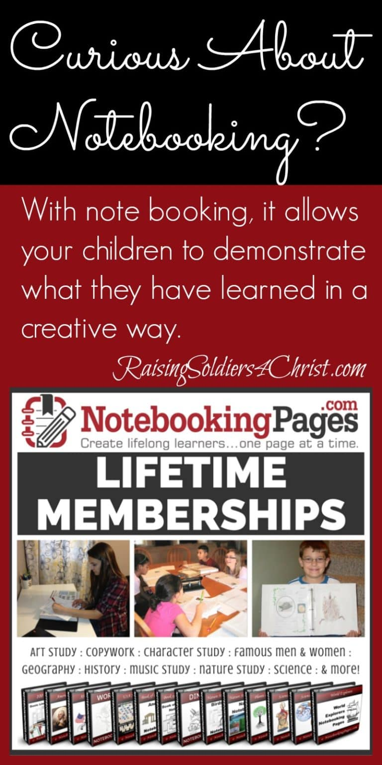 Teaching Your Kids Notebooking