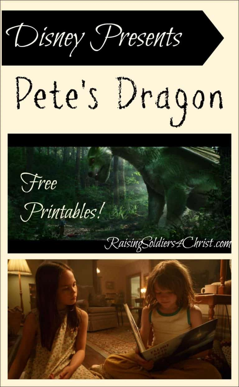 Disney Presents: Pete's Dragon! FREE PRINTABLES!!!