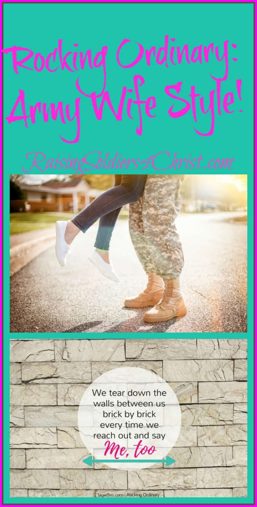 Rocking Ordinary-Army Wife Style! Graphic