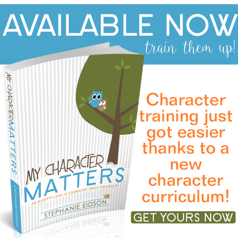 Training Kids Up With Godly Character!