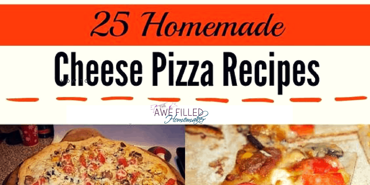 "National Cheese Pizza Day ""Recipe Round Up!"""
