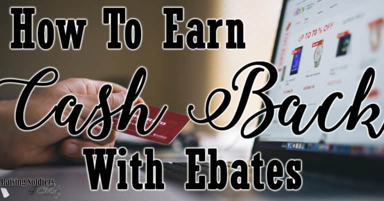 How To Earn Cash With Ebates