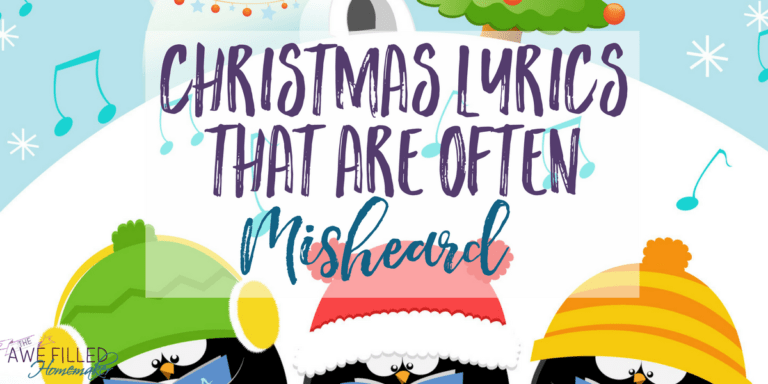 Christmas Lyrics That Are Often Misheard!