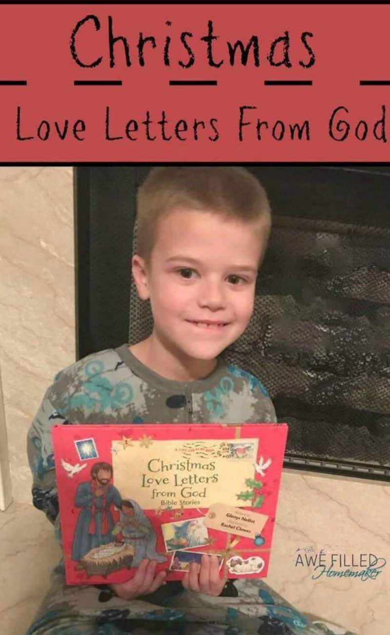 Advent: Christmas Love Letters From God