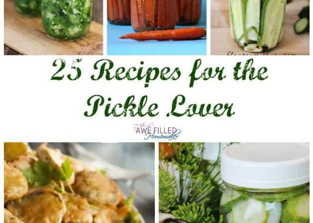 Calling All Pickle Lovers!!! 25 Recipes Just for You!