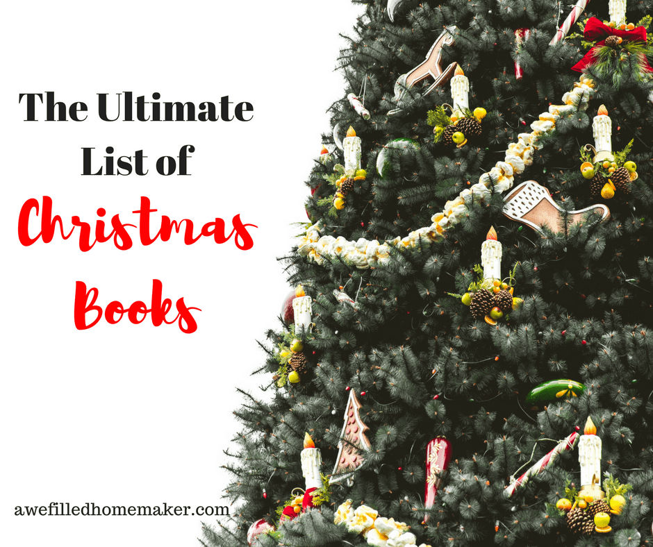 The Ultimate List Of Christmas Books!